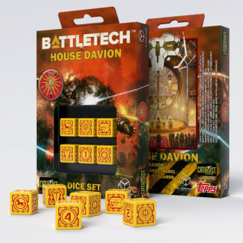 Battletech House Davion D6 Würfel Set
