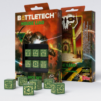 Battletech House Liao D6 Würfel set