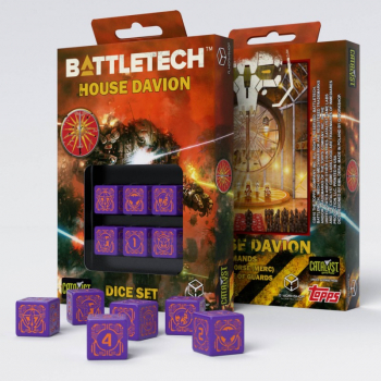 Battletech House Marik D6 Würfel set