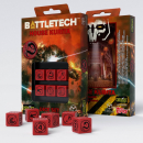 Battletech House Kurita D6 Würfel set